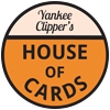 Yankee Clipper's House of Cards | Rochester NY Logo